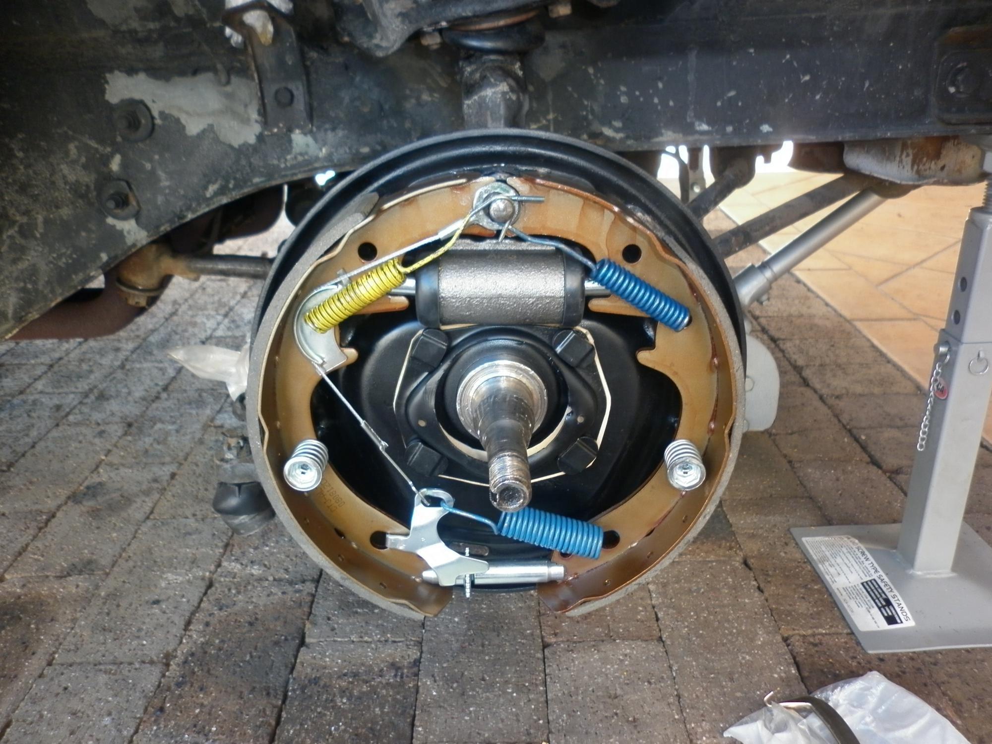 66 Mustang Drum Brake Rebuild My Progress So Far Ford