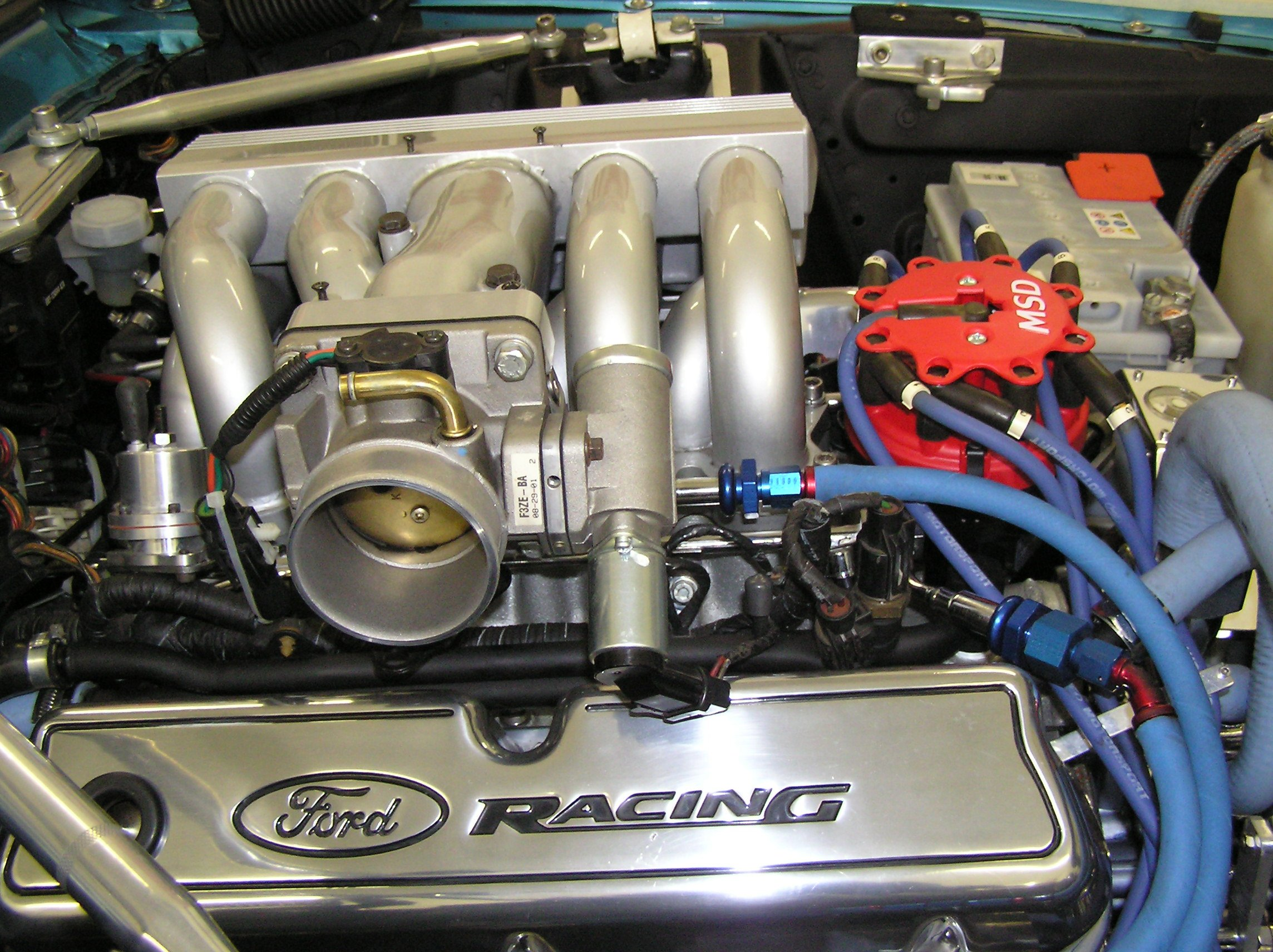 Valve Covers With Gt40 Intake Ford Mustang Forum
