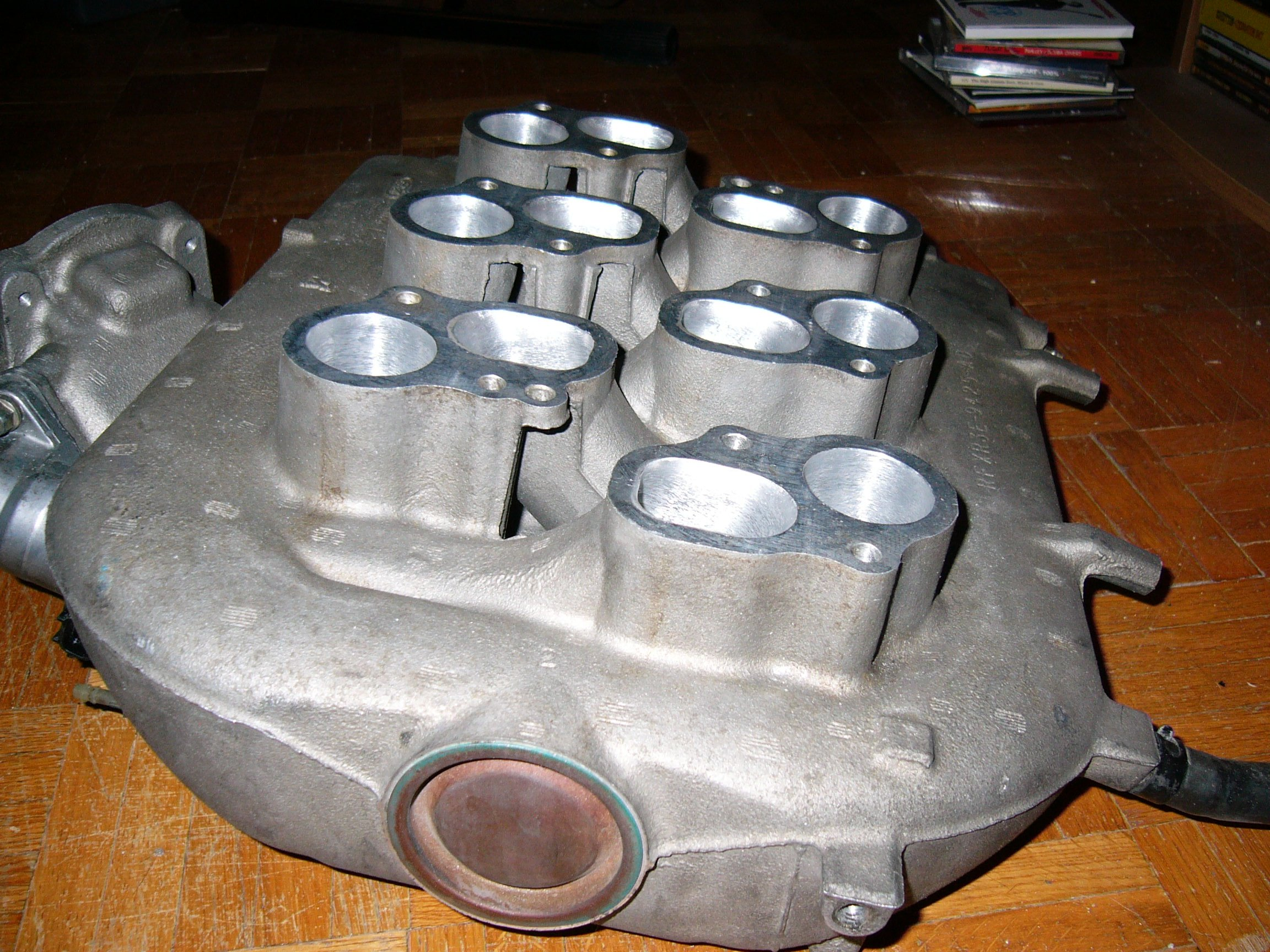 Ported And Polished Lower Intake Manifold Ford Mustang Forum