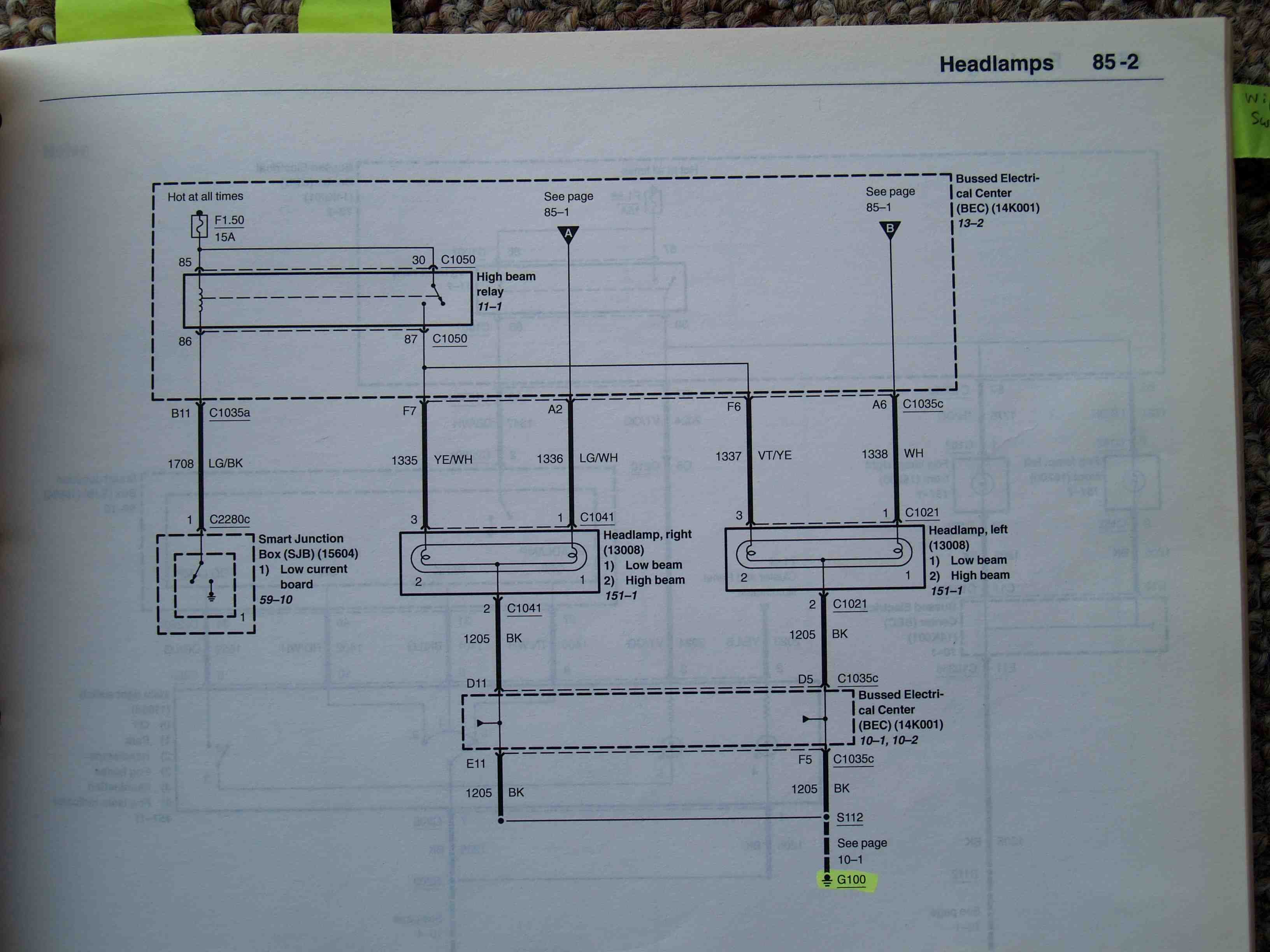 2005 09 Ford Mustang Wiring Diagram Great Design Of 2010 Fusion 2008 Gt Headlight Forum Radio Escape