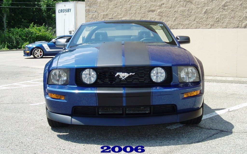 Pictures Of Vista Blue With Racing Stripes Anyone Ford