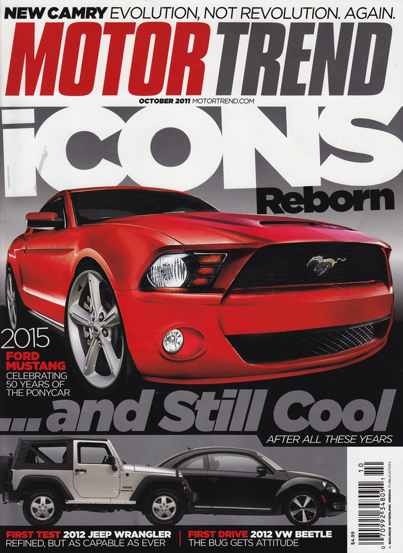 2017 Stang On Cover Of Motor Trend Oct Ed Ford Mustang Forum