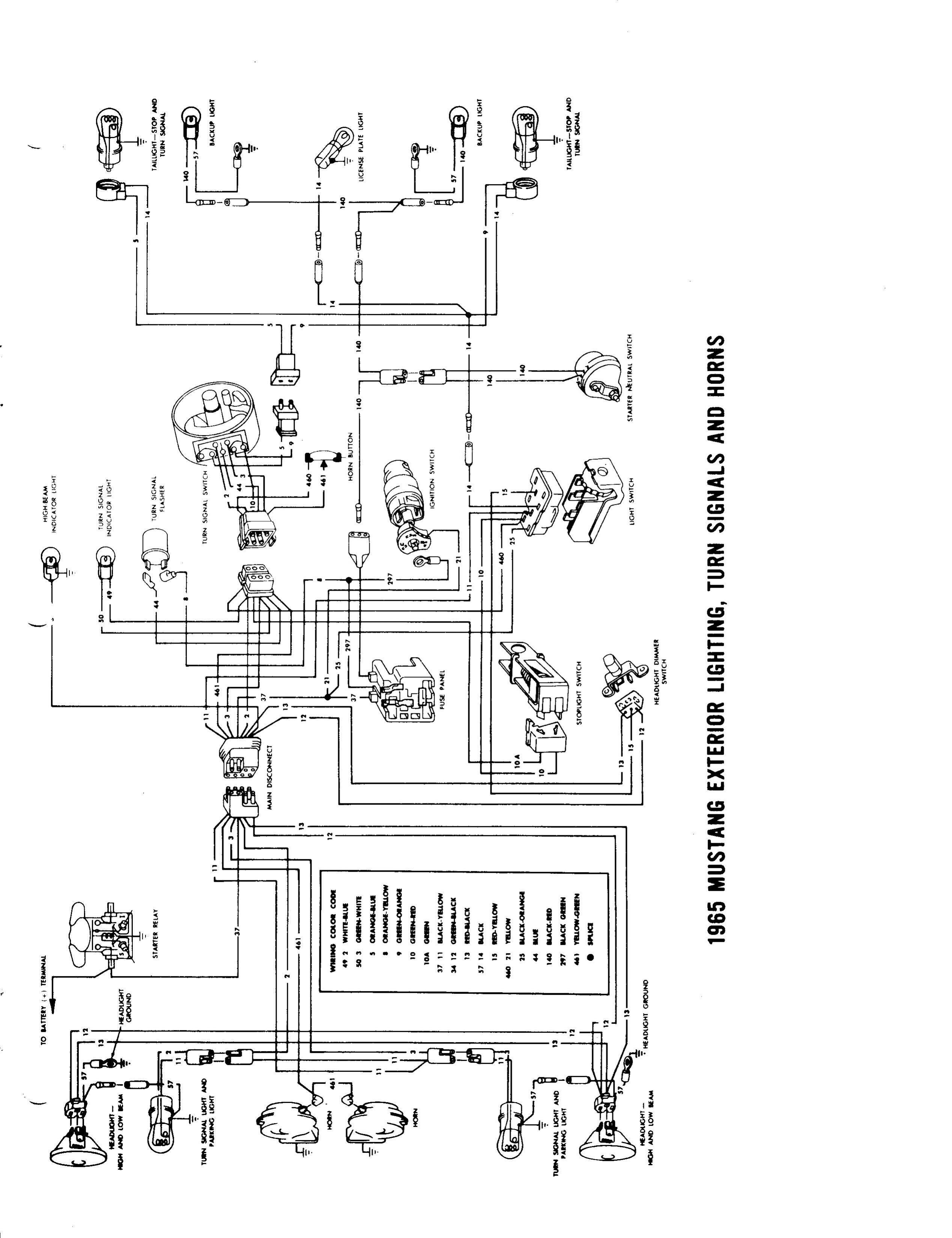 1964 U00bd-1965 Wiring Diagram Manual