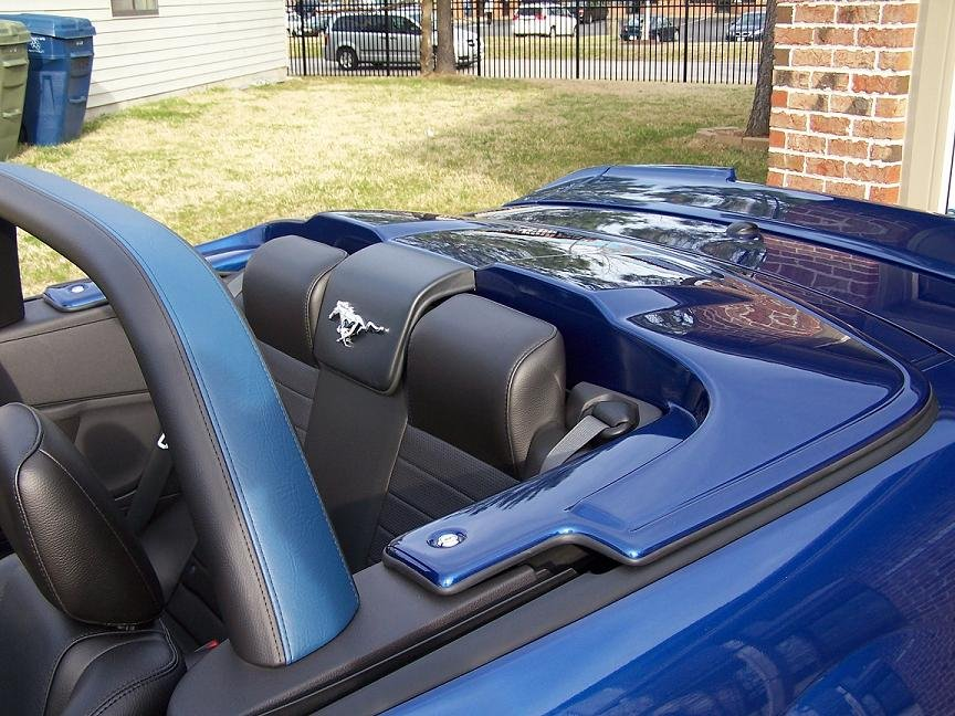 2007 Mustang Gt Convertible With Hard Tonneau Cover