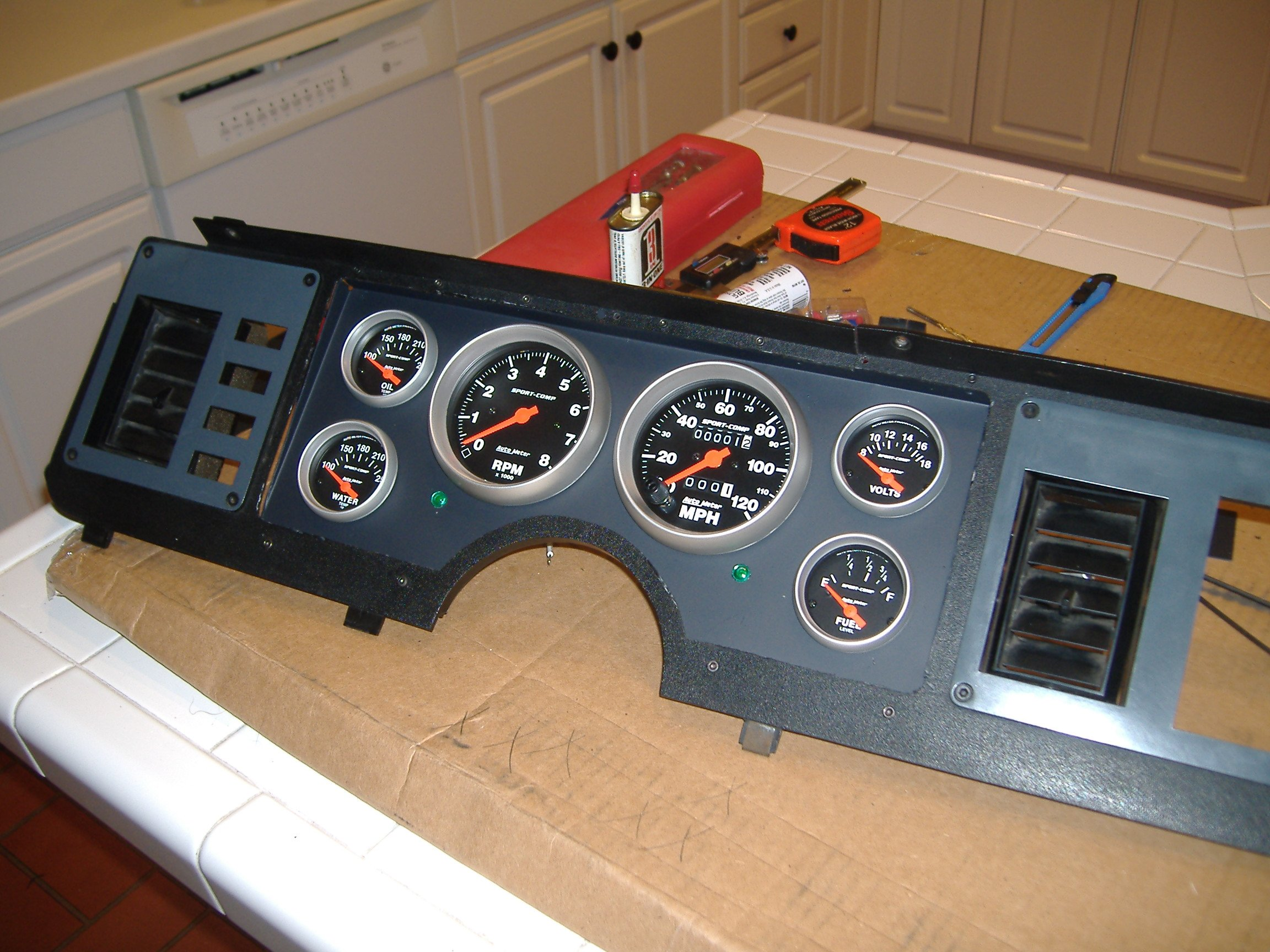 1990 Mustang Gt Alternator Wiring Diagram Library 85 1986 Gauges Ford Forum Instrument Cluster