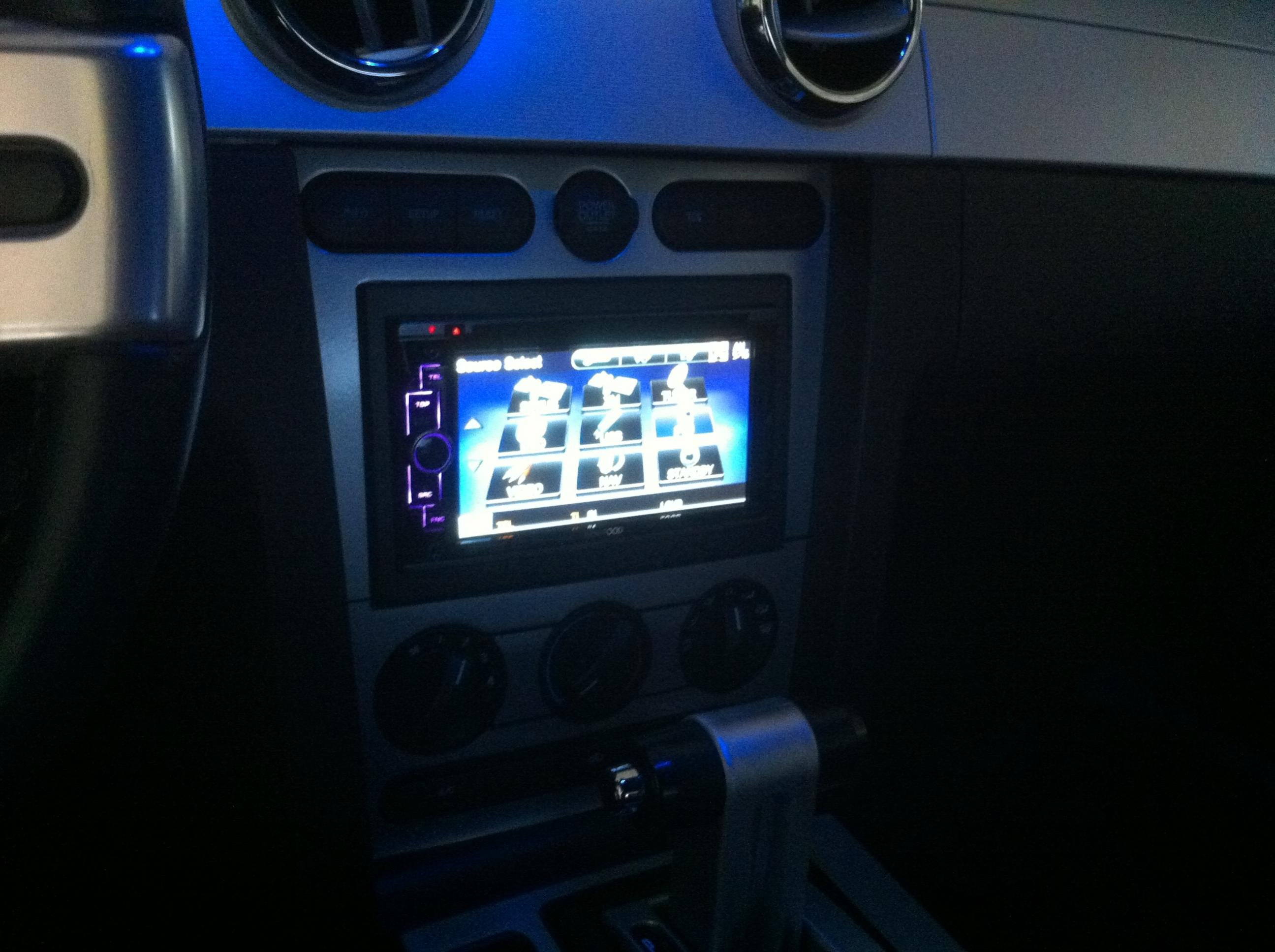 Kenwood Ddx616 Installed In 2005 Mustang Gt Ford Mustang