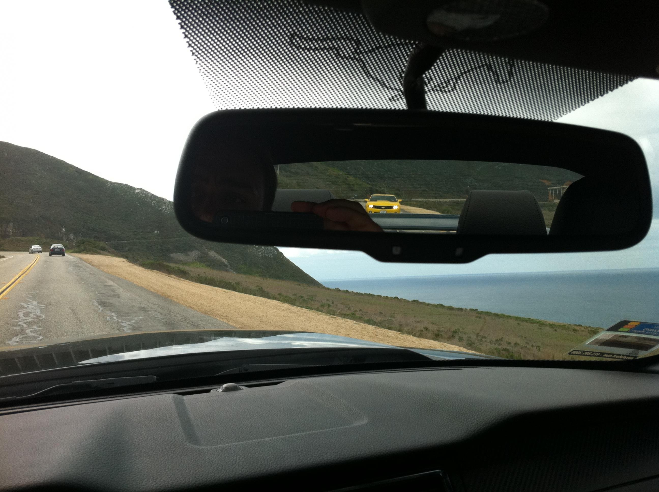 In my rear view mirror... - Ford Mustang Forum