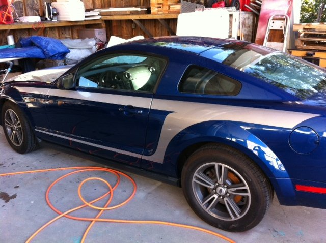 Ford Fort Worth >> Check out my new Custom Paint Job! - Ford Mustang Forum
