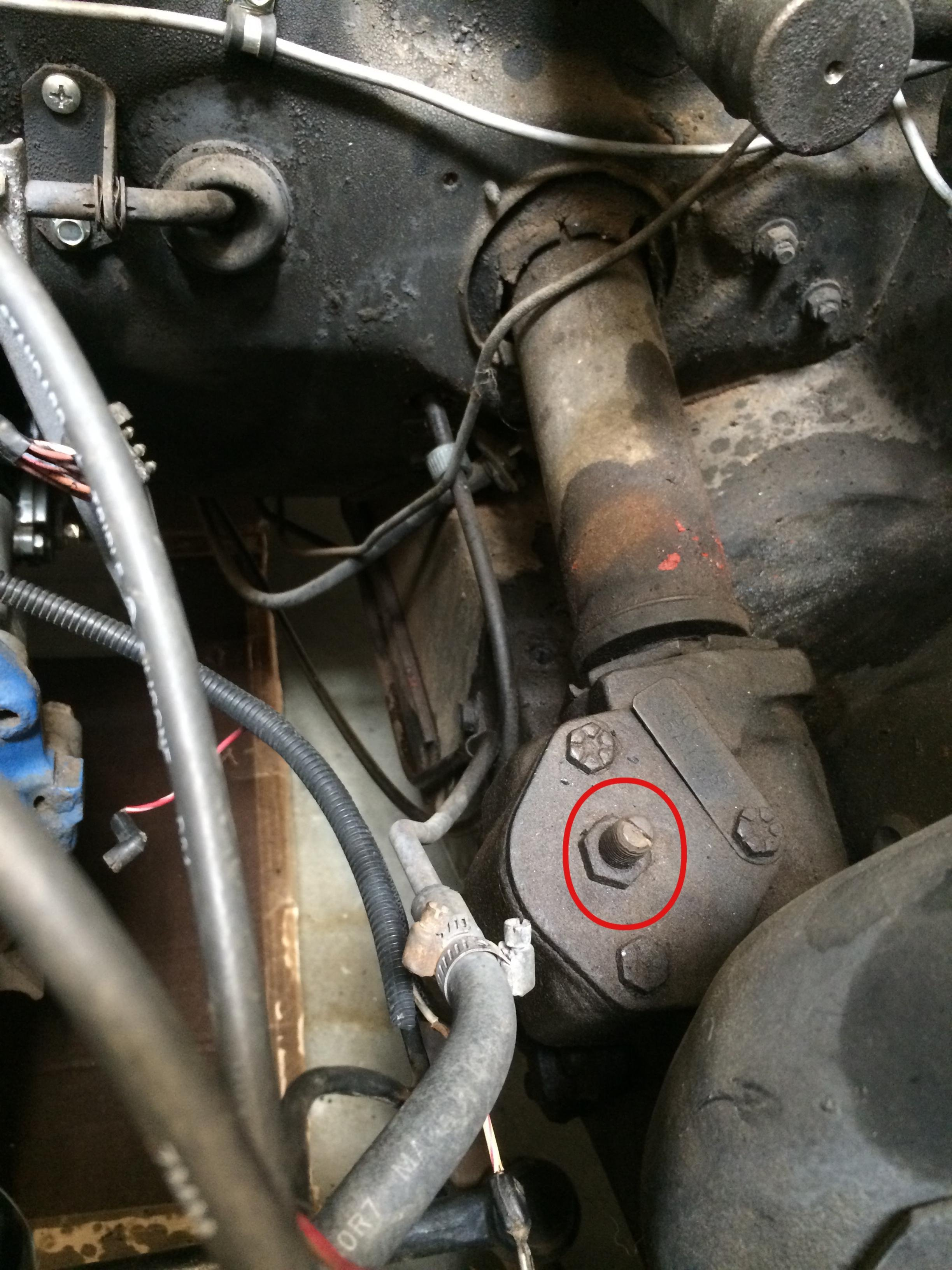 1965 Oil Pressure And Water Temp Sending Unit Locations
