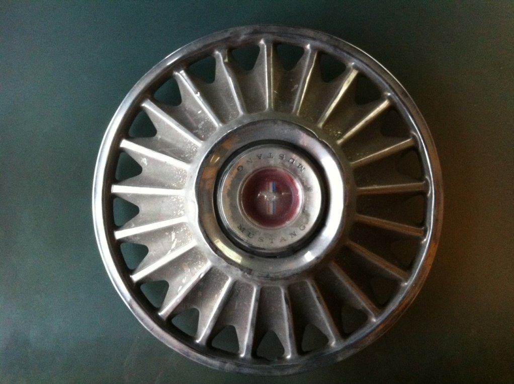 1967ish Hubcaps Dead Ford Mustang Forum