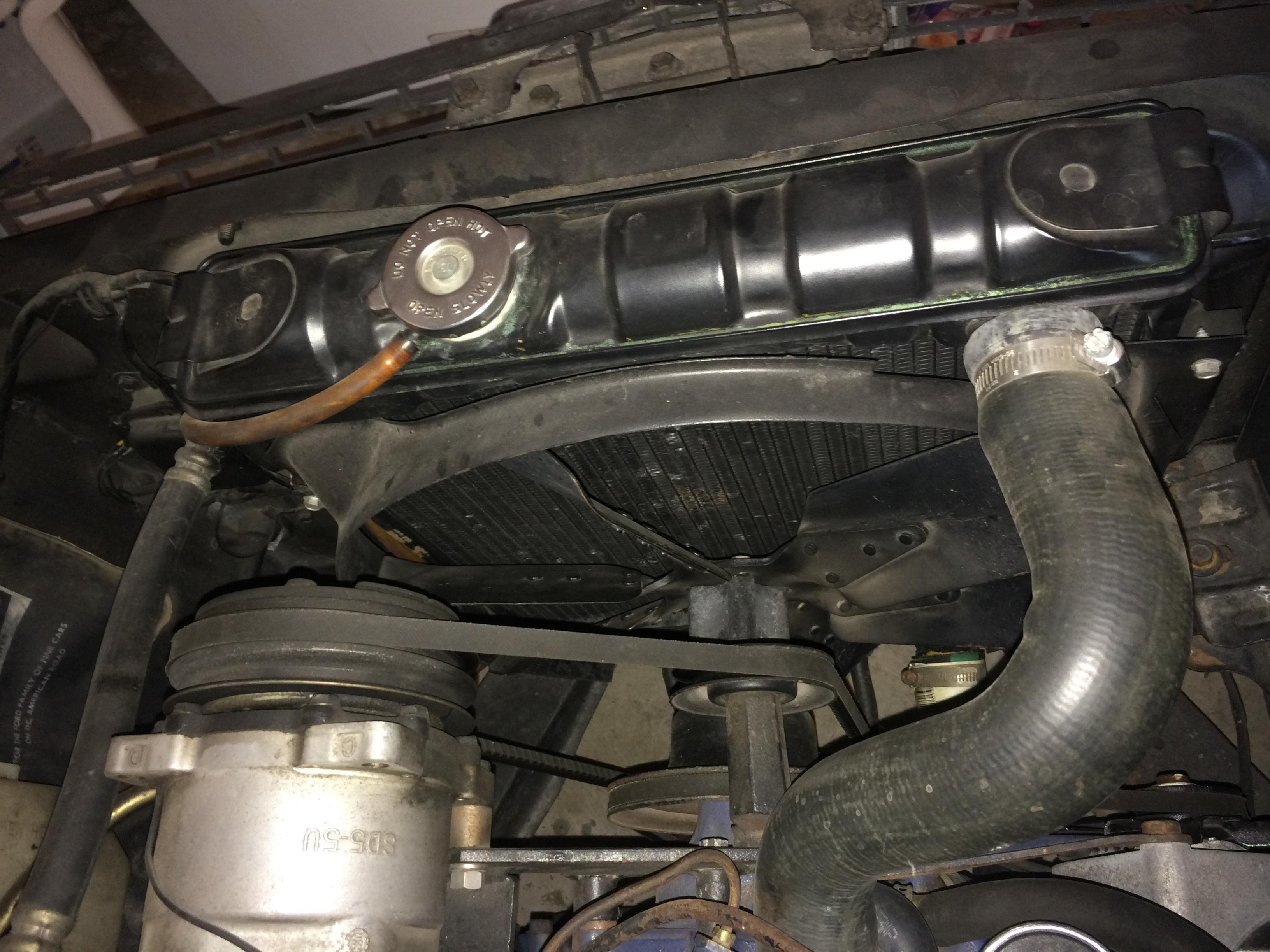 1966 Mustang Radiator Swap What Should I Do Ford