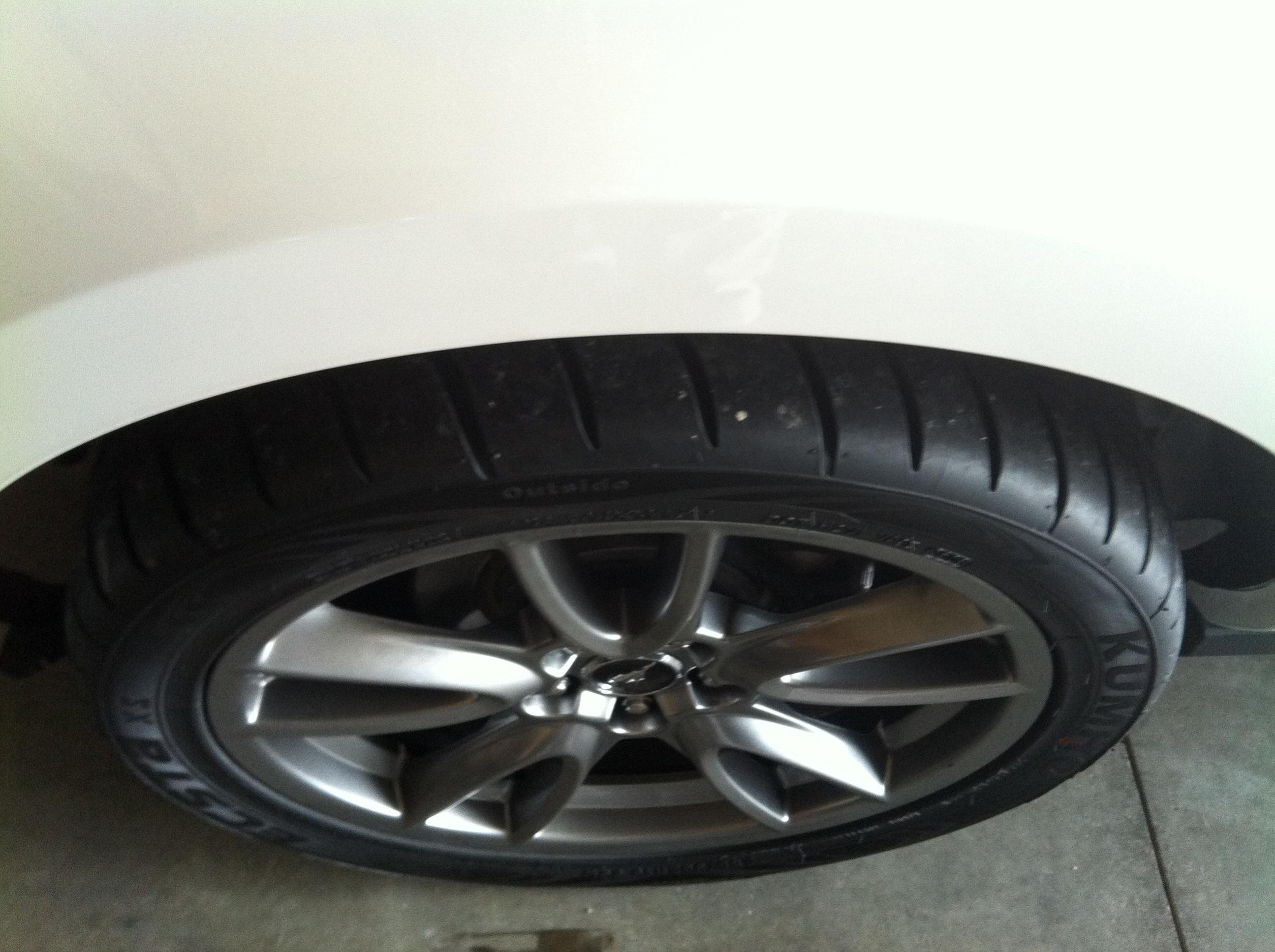 "2011 Mustang Wheel Size >> Brembo Brake Package 19"" x 9"" Rim with 285/35/19 Tire - Ford Mustang Forum"