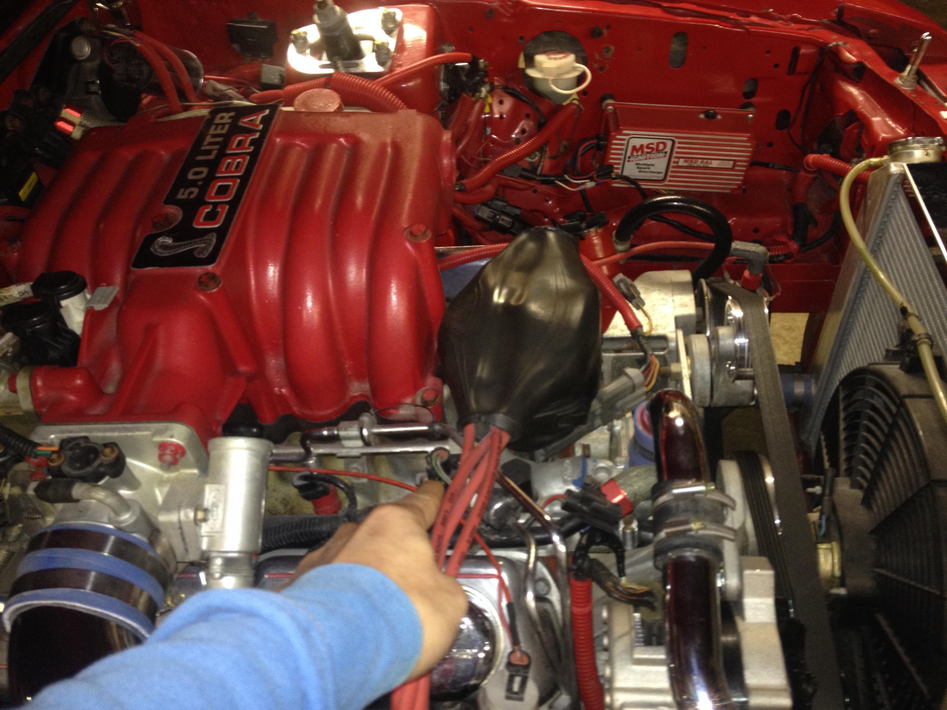 D Mustang Gt Bad Engine Coolent Temperature Sensor Location Photo on Mustang Coolant Temperature Sensor Location