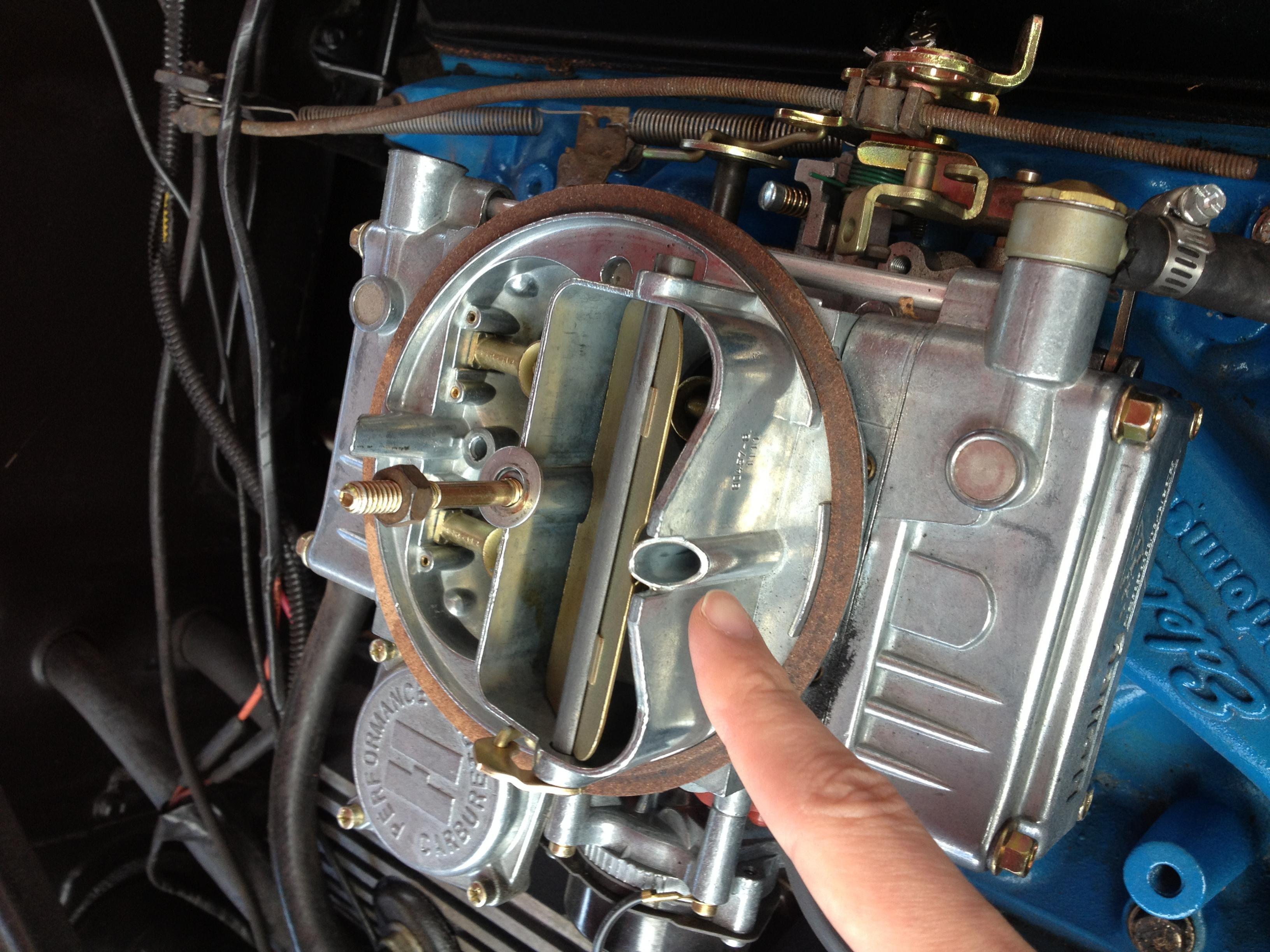 1965 Mustang Gas Leak At Carburetor Ford Mustang Forum