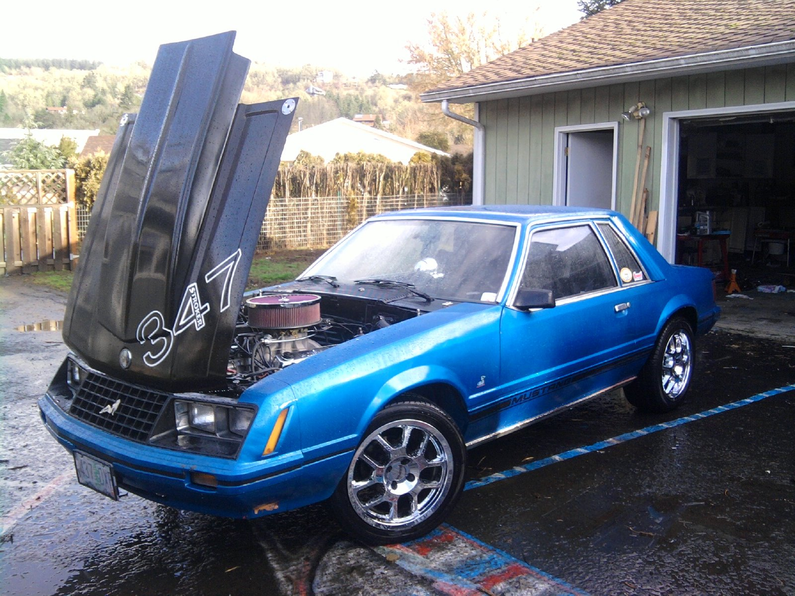 1979 mustang fox body ford 1993 wheels thread project tires forum