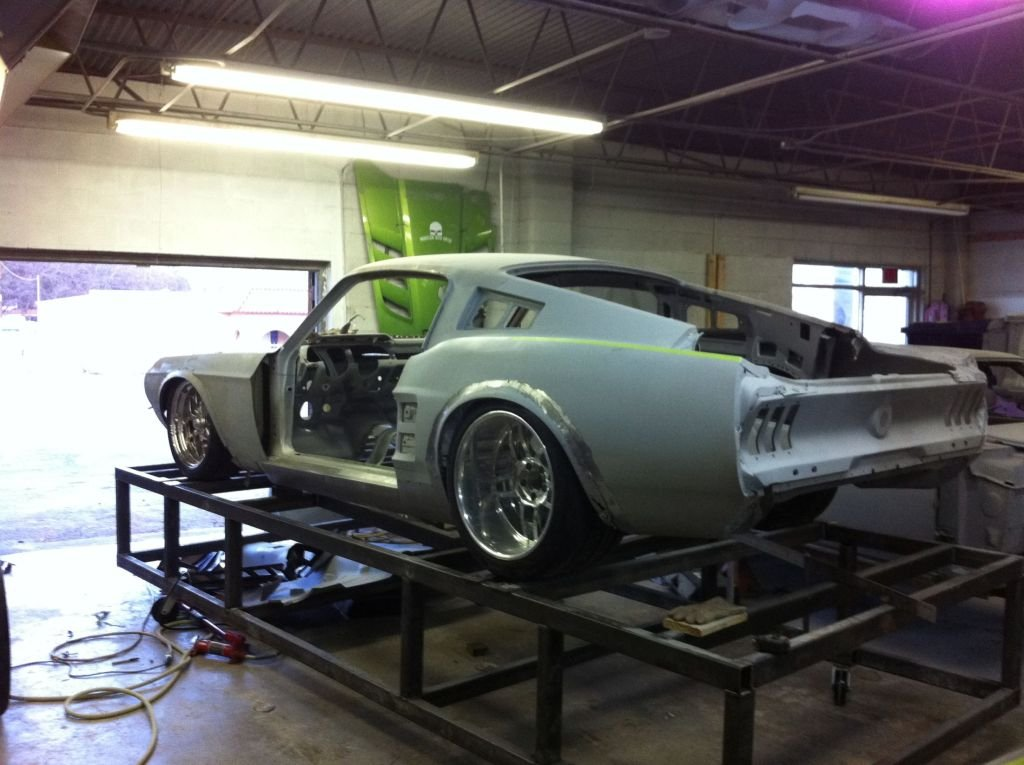 1967 Mustang Fastback >> 1967 Mustang MachRod Build - Ford Mustang Forum