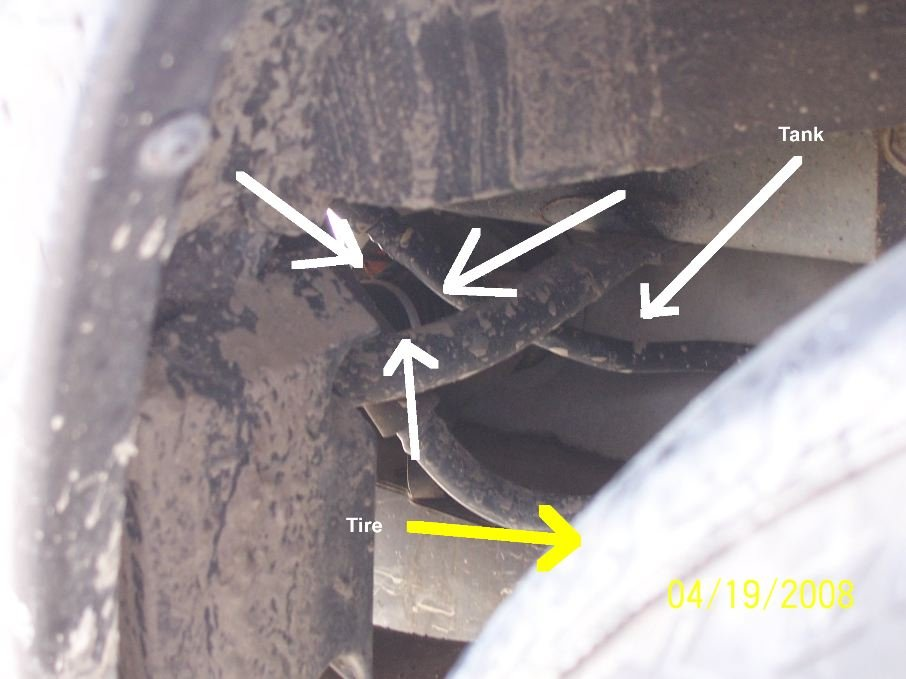 04 Mustang Gt >> Gas Leak Near Tank? During Fill up. - Ford Mustang Forum