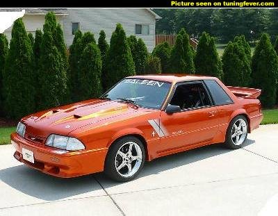 New pic's of my car with saleen kit. - Ford Mustang Forum