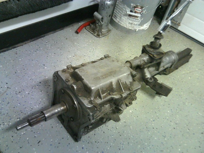 4 Speed Transmission