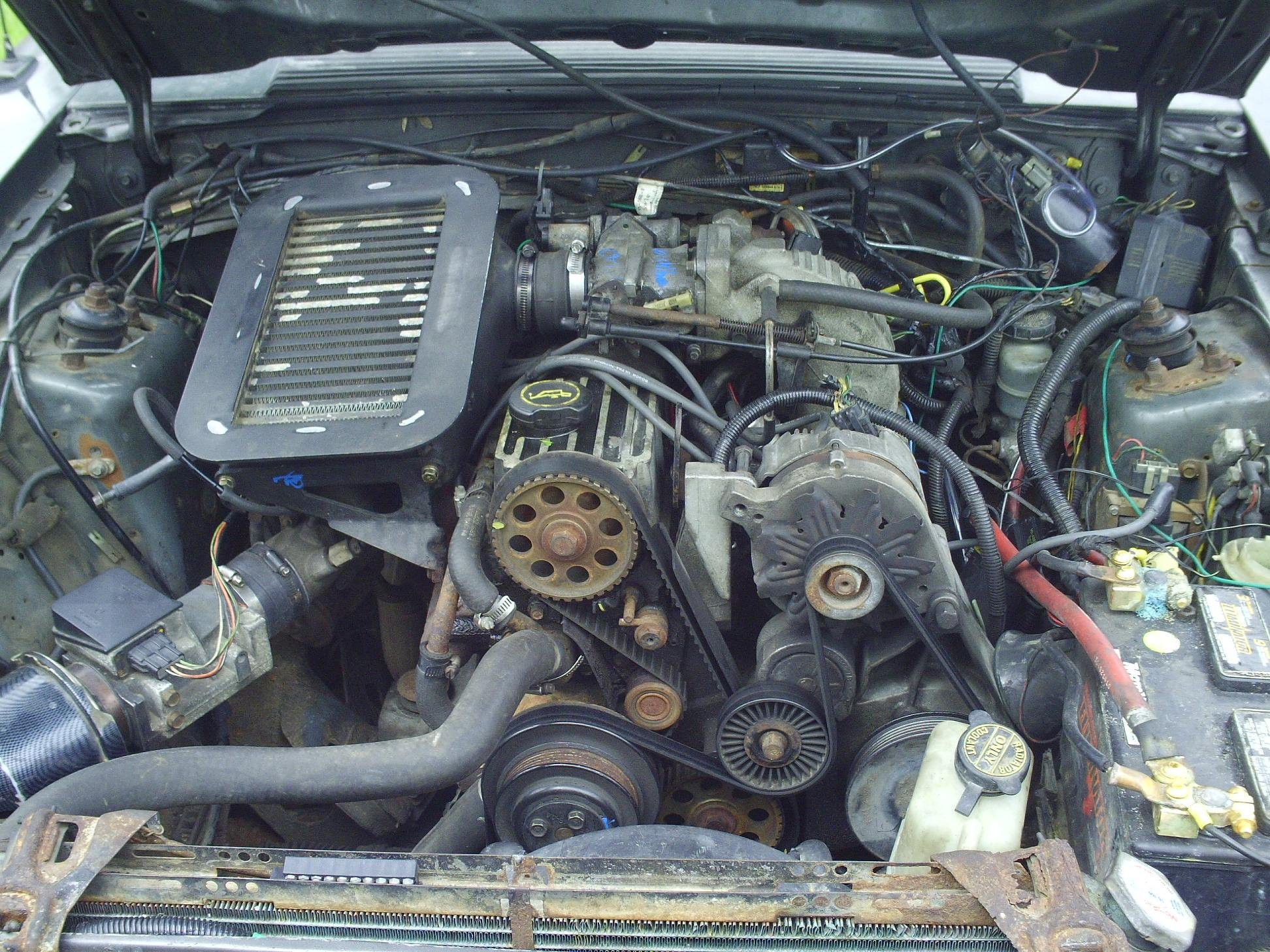69197d1242044944 2 3 turbo swap start finish pict0004 2 3 turbo swap start to finish ford mustang forum