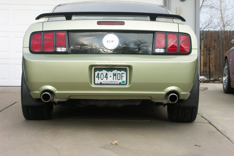 Choices In Black Tail Light Trim Ford Mustang Forum