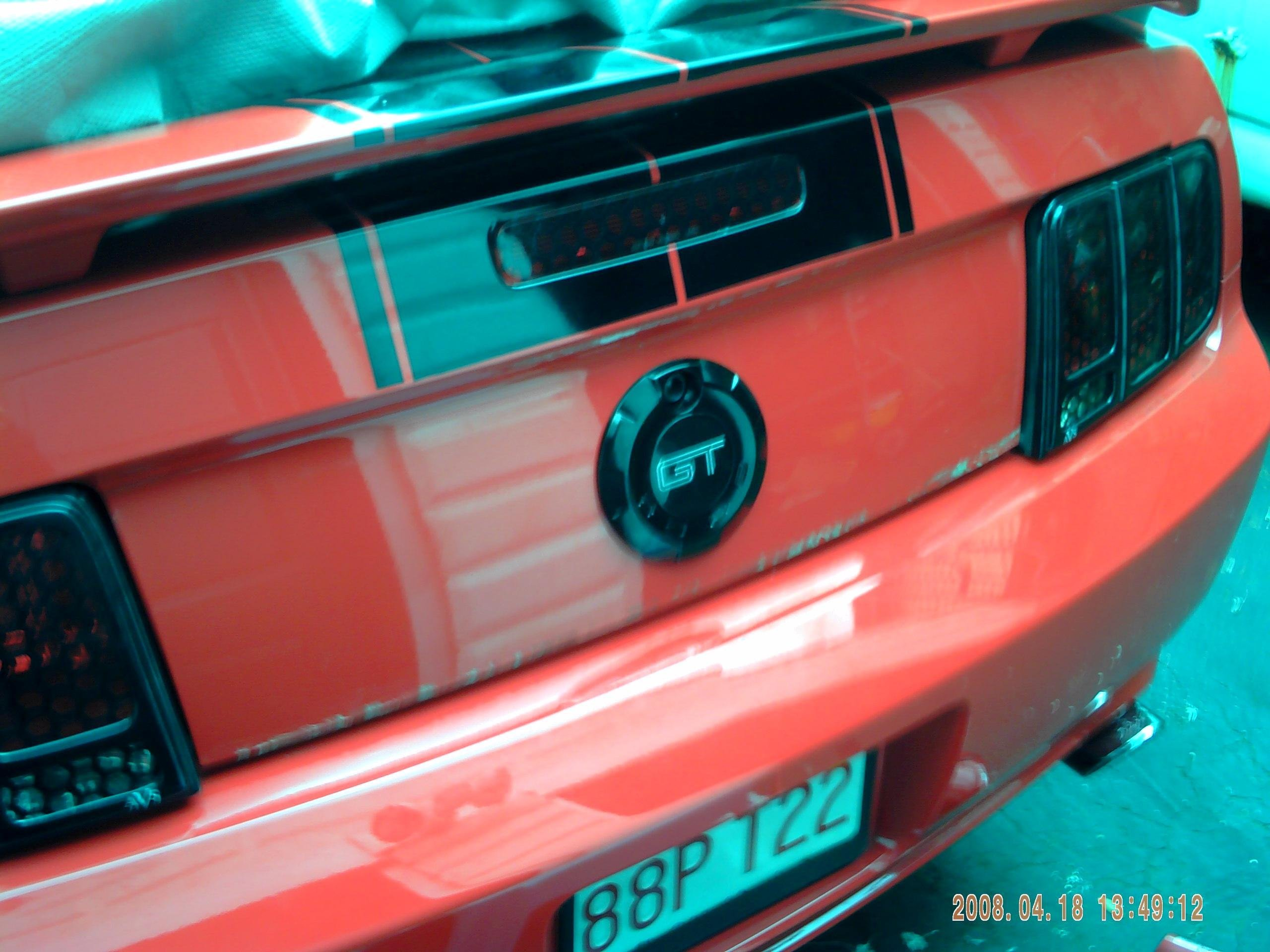 Painted My Rear Emblem Ford Mustang Forum