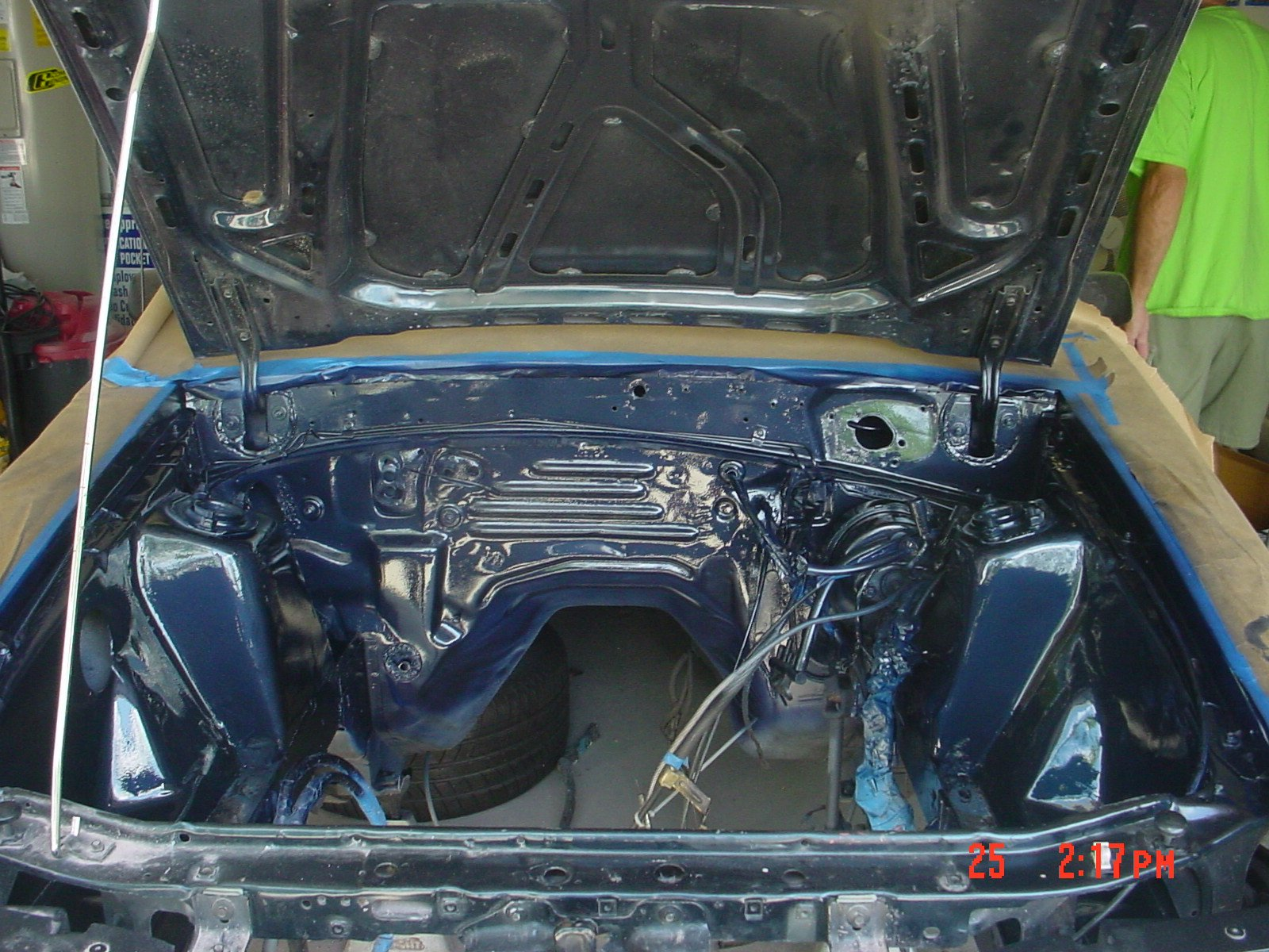 1991 mustang gt tips on shaving and tucking the engine bay ford mustang forum. Black Bedroom Furniture Sets. Home Design Ideas