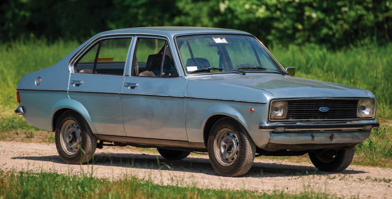 Pope John Paul II's 1976 Ford Escort is Heading to Auction