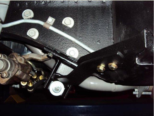 Power Steering Lowering Bracket Issues Ford Mustang Forum