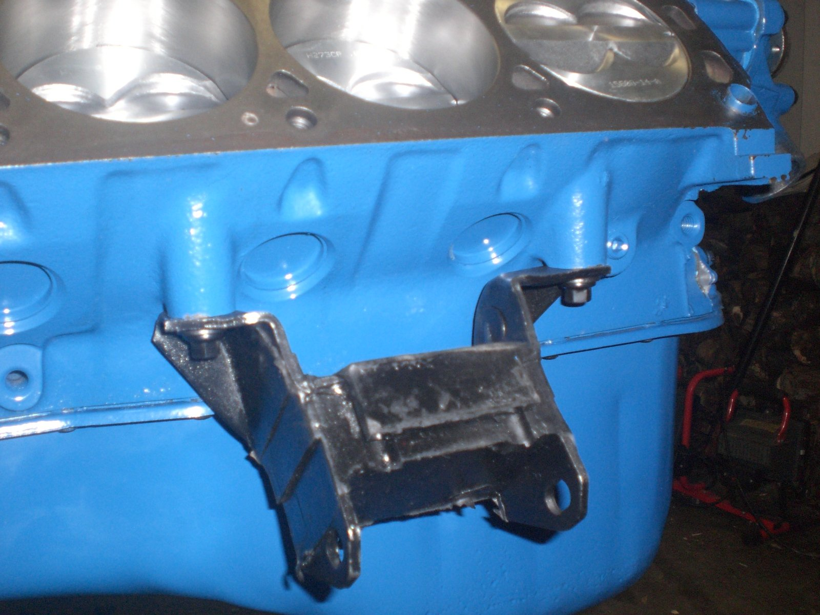 D Motor Mount Pullies on 390 Ford Engine Block Numbers