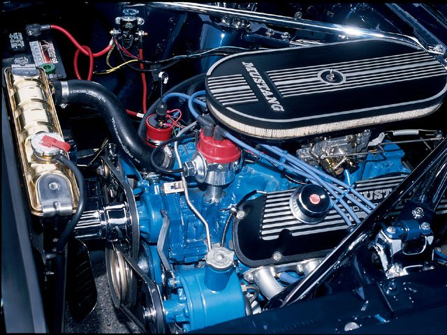 Determine Where The Power Steering Pump 1966 Mustang Gt Coupe