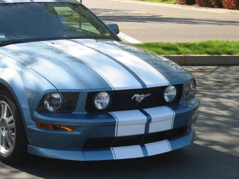 2006 mustang racing stripes ford mustang forum. Black Bedroom Furniture Sets. Home Design Ideas