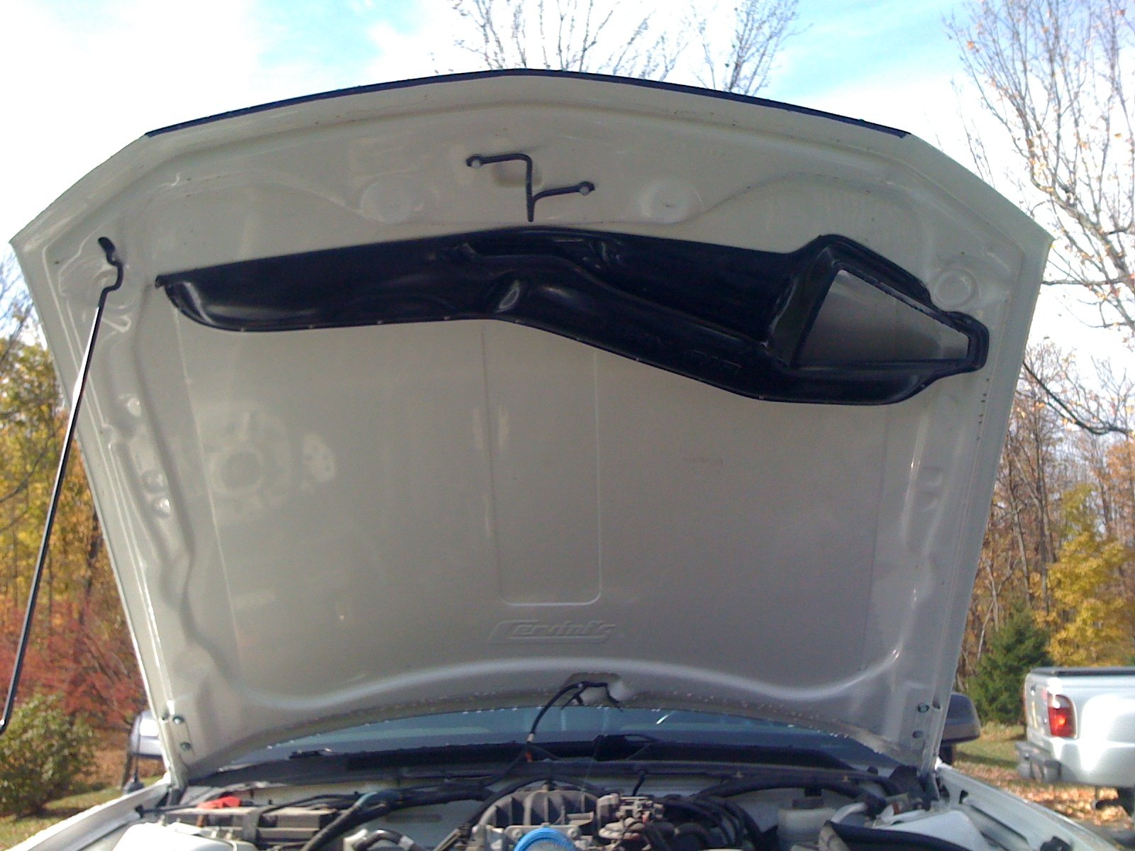 2005 Ford Mustang V6 >> Custom Ram Air Duct for Cervini Concept Hood - Page 2 ...