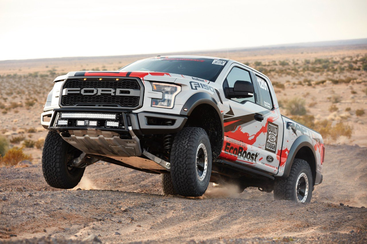 Ford to Take on SCORE Baja 1000 with 2017 F-150 Raptor
