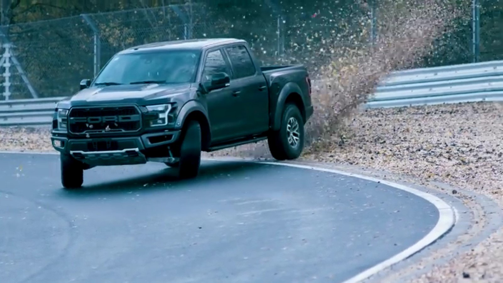 Watch: The F-150 Raptor Drift the Nurburgring