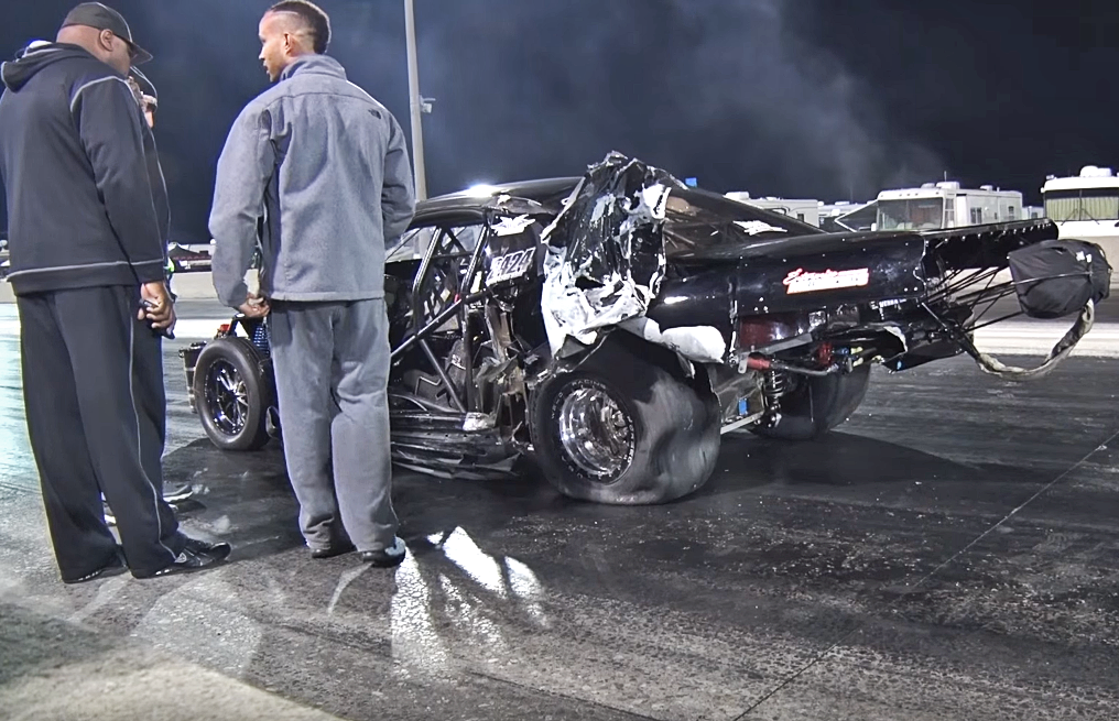 Blown Corvette and Turbo Mustang Destroyed