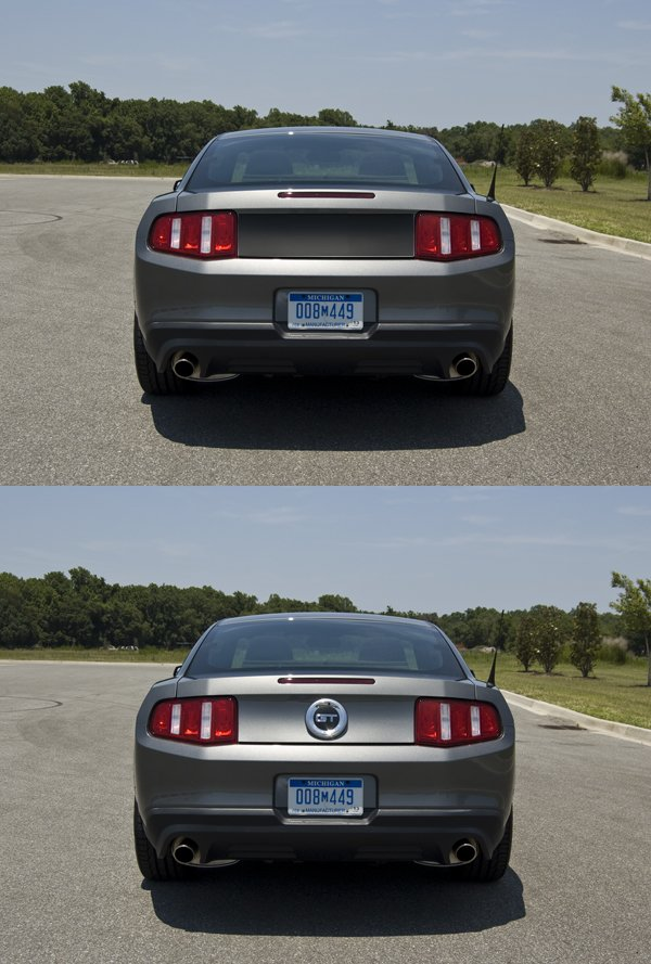 Replace Fake Gas Cap With Blackout Panel Ford Mustang Forum