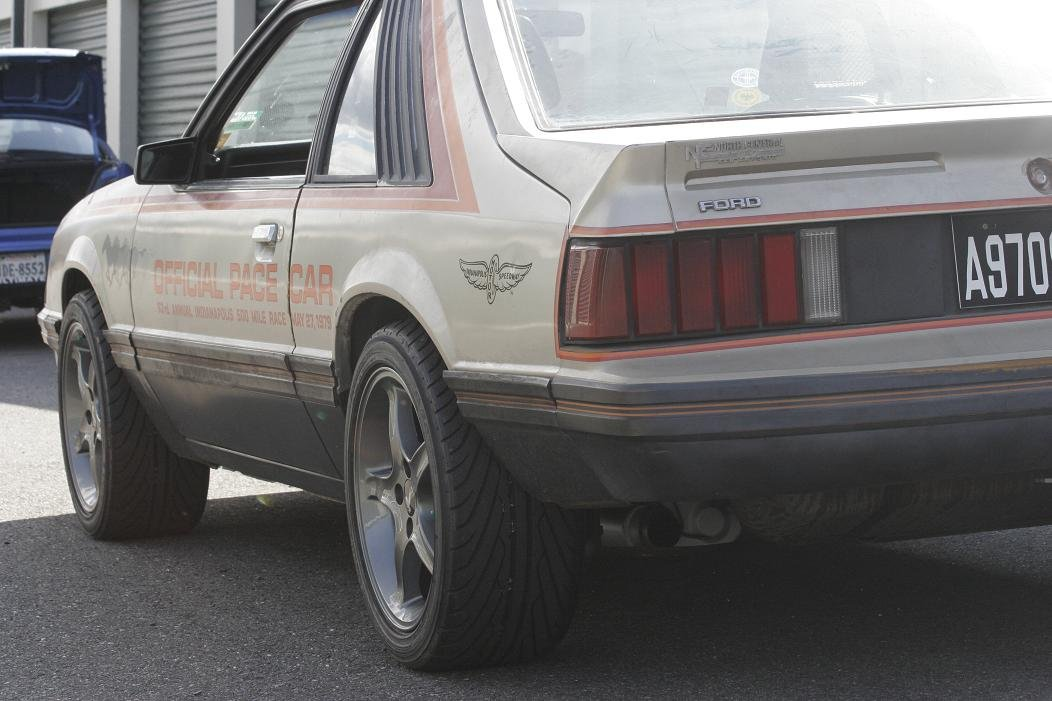 1979 Mustang: New Rims, New Fuel Delivery And MSD Ignition, Pictures Inside!-rear.jpg