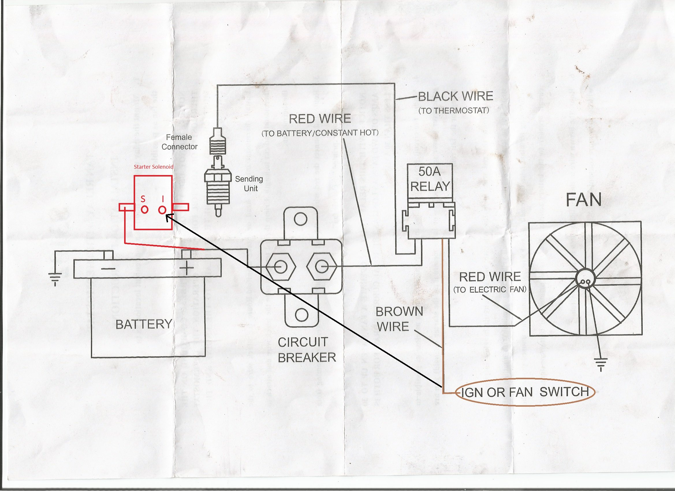Painless Electric Fan Wiring Kit Car Diagrams Explained How To Wire Automotive I Installed My Relay But Ford Mustang Forum Rh Allfordmustangs Com Diagram Adjustable