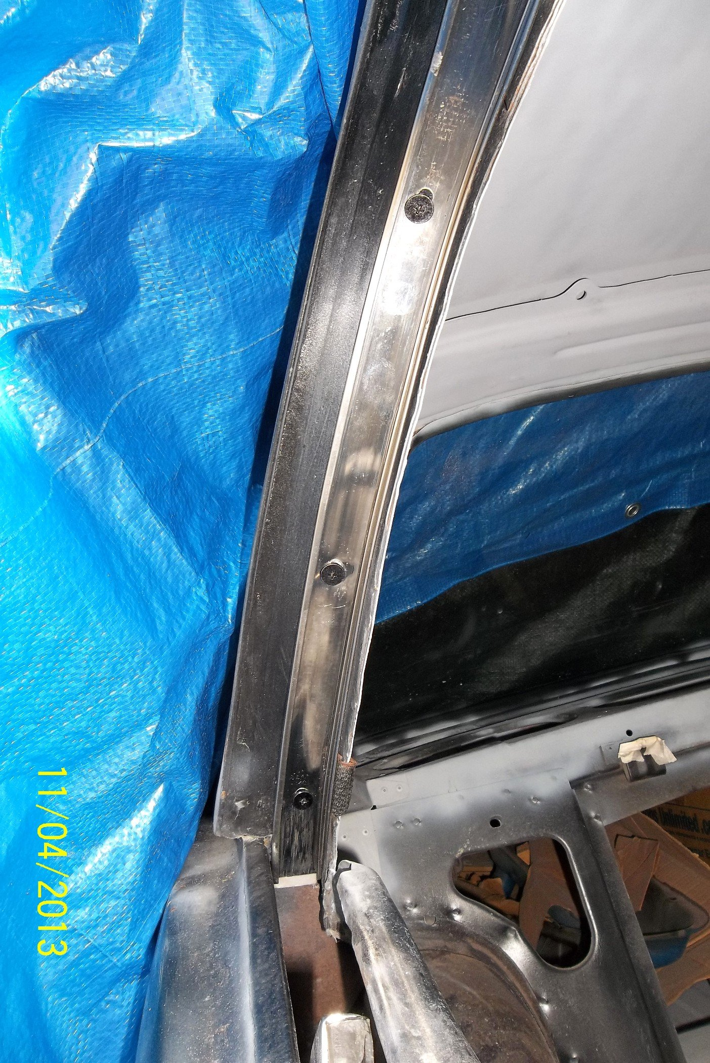 66 Roof Rail Weatherstripping Ford Mustang Forum