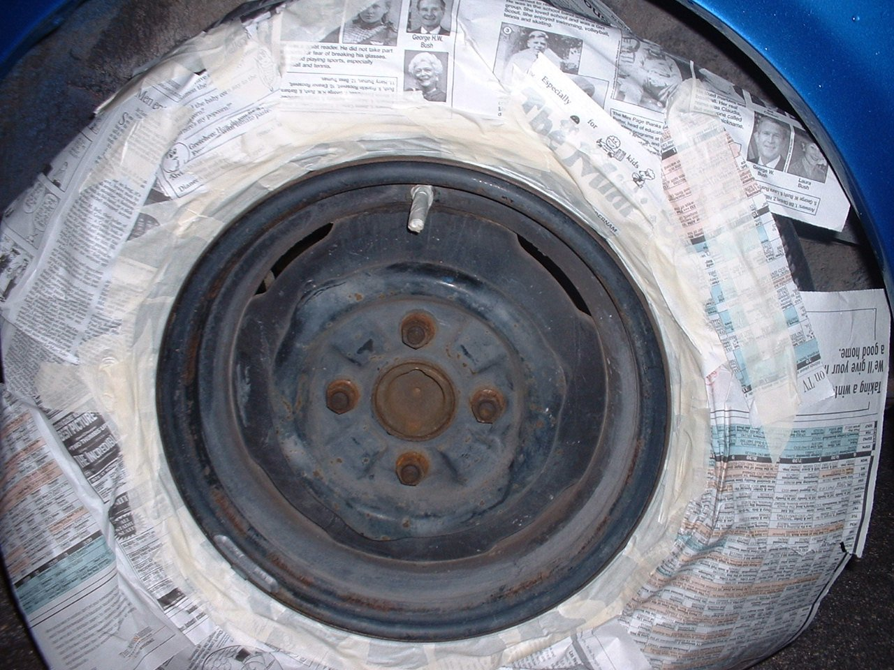 Paint Remove Scrubbing Wheel