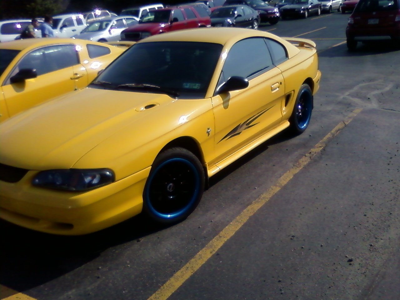 New Xxr Rims On My 98 Stang Ford Mustang Forum