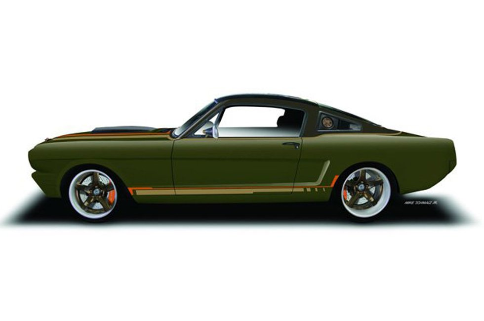 Ringbrothers to Debut Carbon Fiber Bodied Mustang Fastback at SEMA