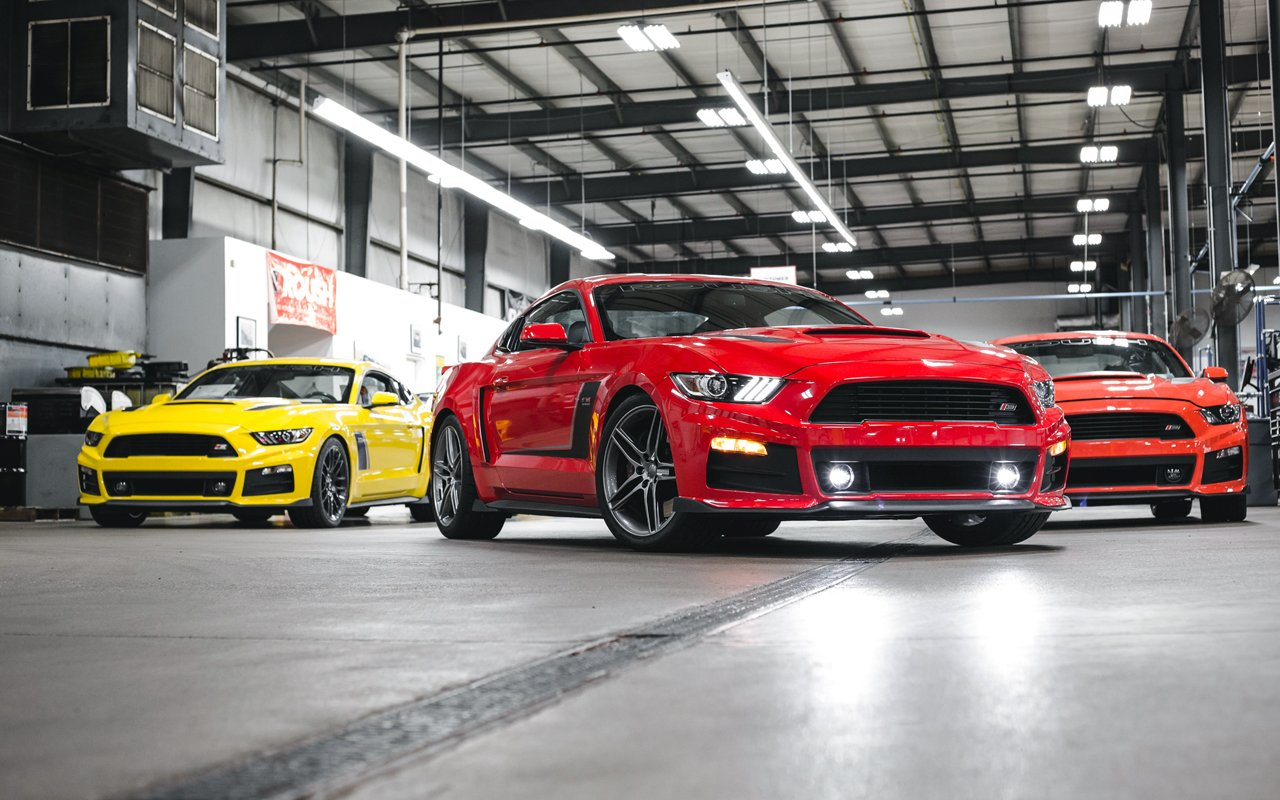 Check Out the Roush Stage 3 Mustang With Jack Roush Jr.