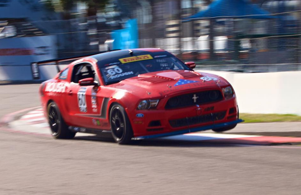 Mustang on Pole at the Grand Prix of St. Petersburg