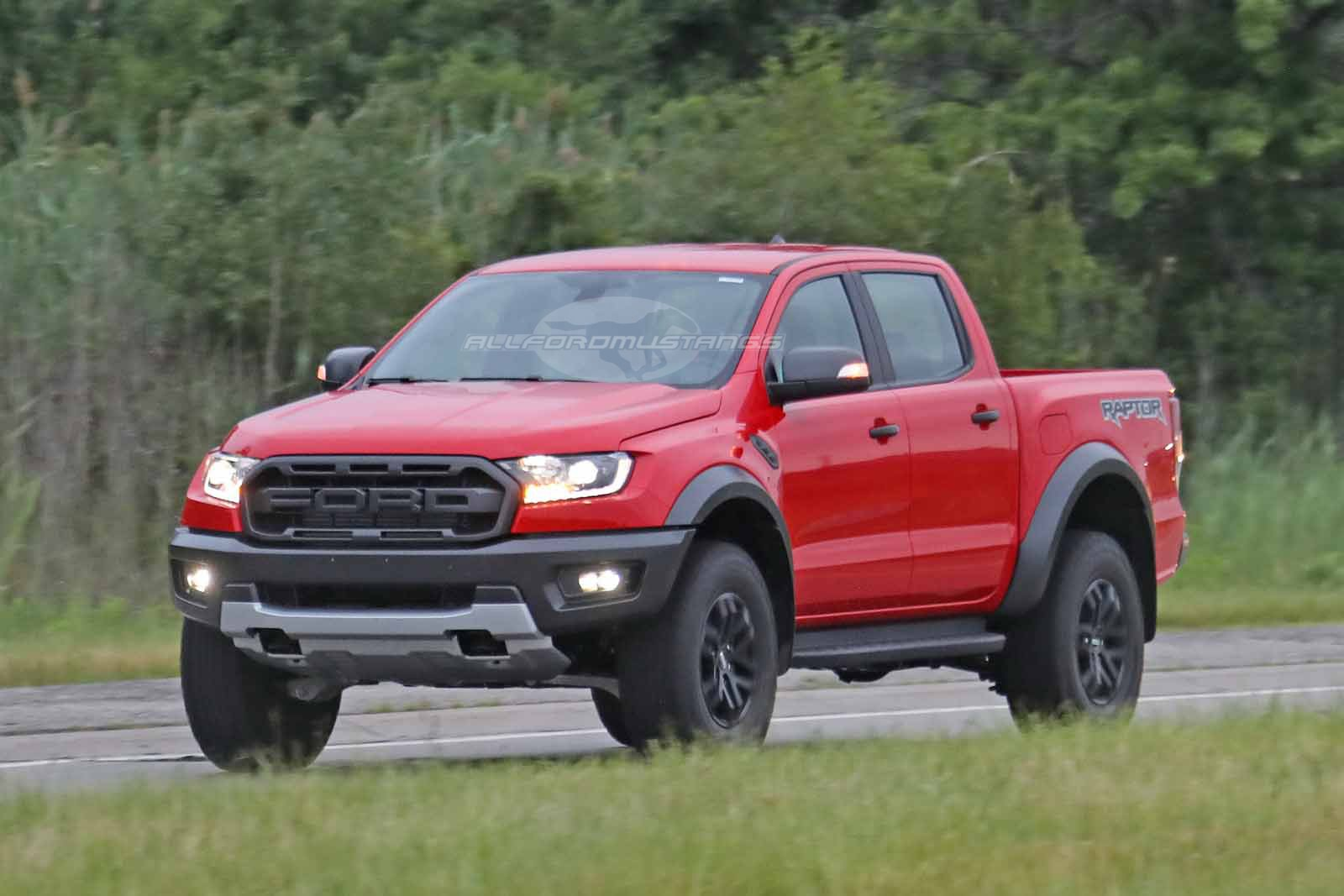 First Sighting of Left Hand Drive 2019 Ford Ranger Raptor