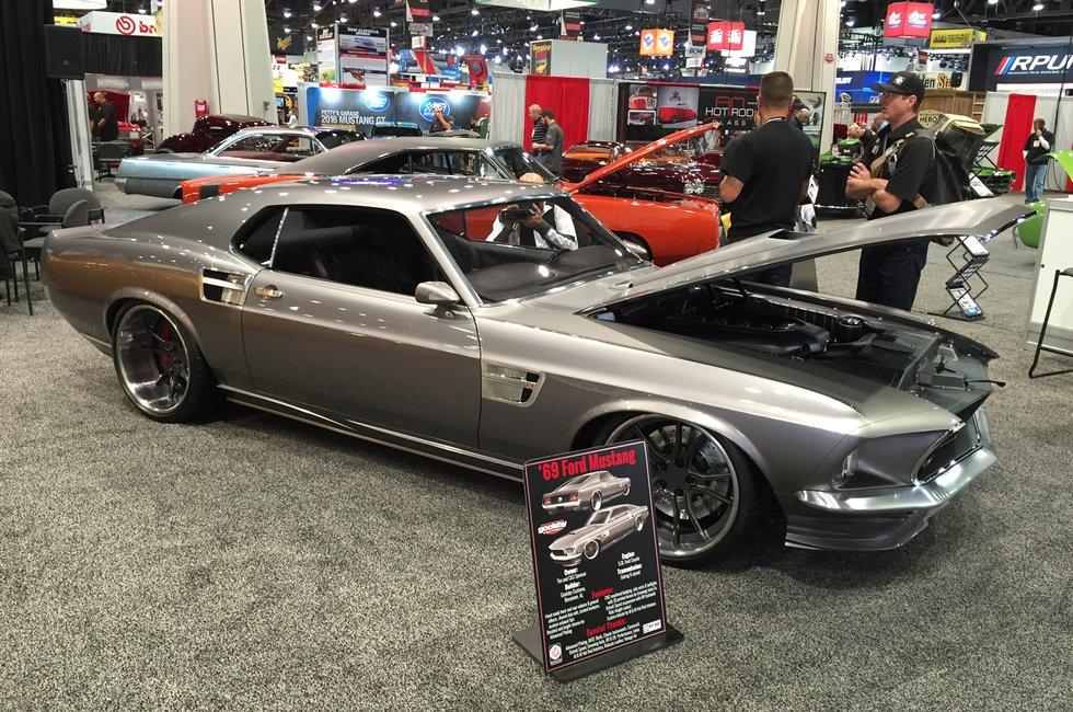 Goolsby Customs '69 resto-mod Mustang