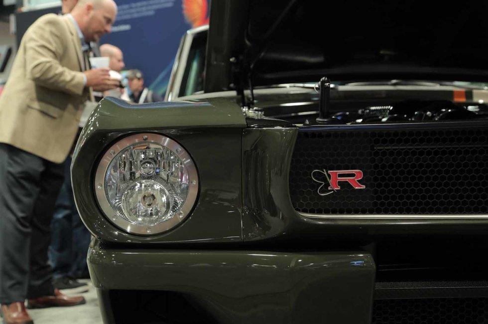 Ringbrothers 1965 Carbon Fiber Mustang the Best Restomod at SEMA?