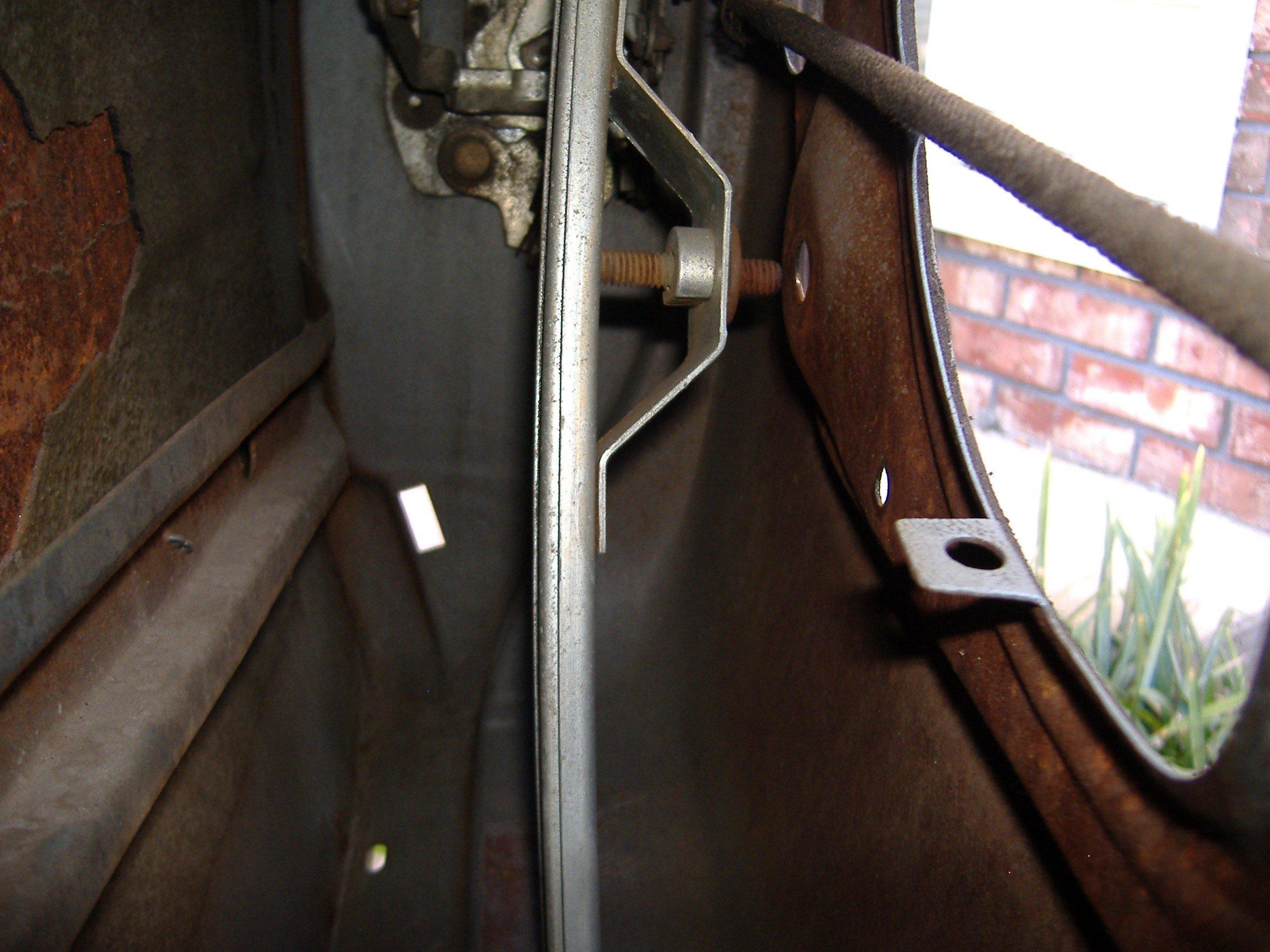 1967 Mustang Coupe Door Window Alignment Help Ford