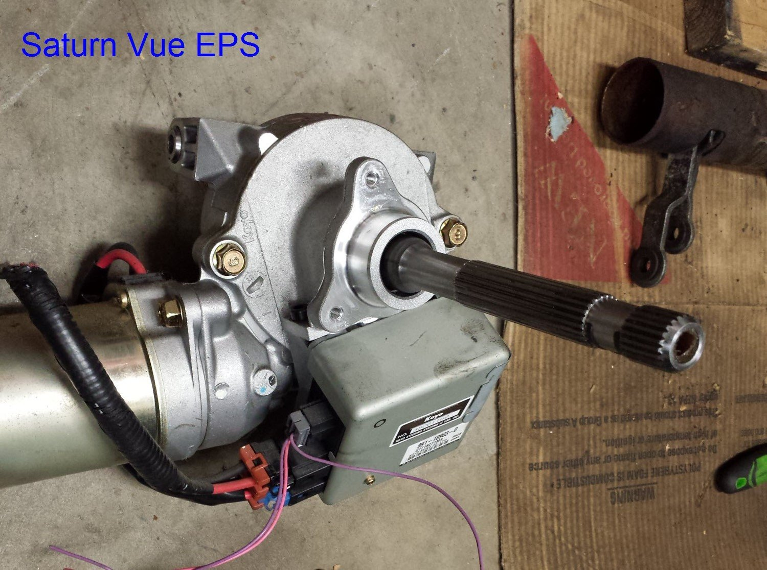 35 Electric Power Steering With Fail-safe - No Ebay Module And No Caster Issues